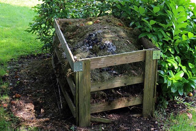 compost huerto jardín